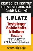 Deutsches Institut für Service-Qualität GmbH & Co KG Testsieger