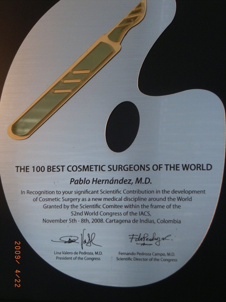 The 100 best Cosmetic Surgeons of the World