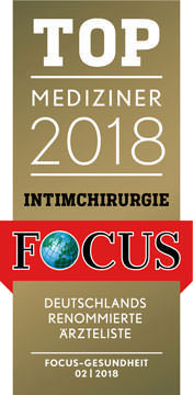 FOCUS Topmediziner Intimchirurgie 2018