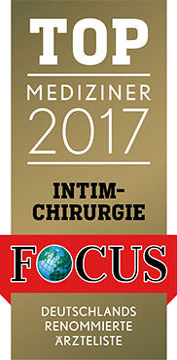 FOCUS Topmediziner Intimchirurgie 2017