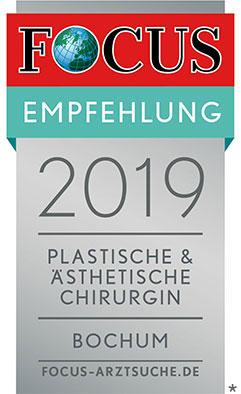 FOCUS Topmediziner Plastische und Ästhetische Chirurgie 2019