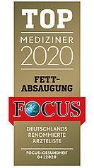 FOCUS Topmediziner Fettabsaugung 2020